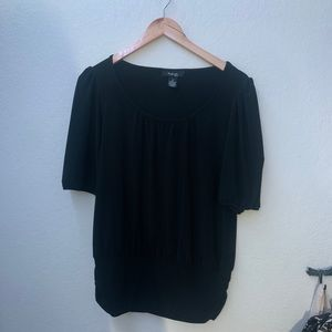 Style&co Black blouse